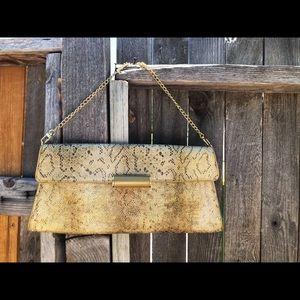 BCBG Evening clutch shoulder purse NWOT